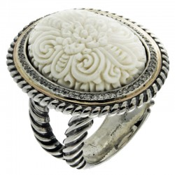 Ring GUMUS Silver and Gold